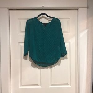 Banana Republic - Petite Emerald Green Blouse